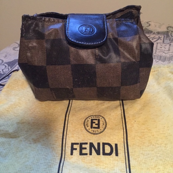 21025b75275 Fendi Handbags - Authentic Fendi Cosmetic Bag   Makeup Bag   Clutch